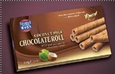 Coconut Chocolate Roll